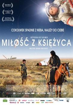 Polski plakat filmu 'Miłość Z Księżyca'