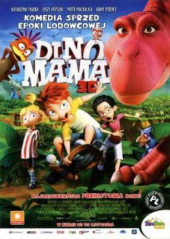 Przód ulotki filmu 'Dino Mama'