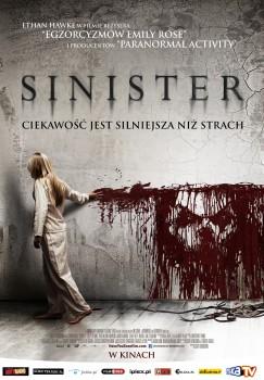 Polski plakat filmu 'Sinister'