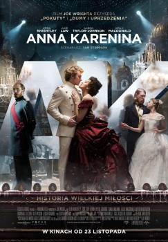 Polski plakat filmu 'Anna Karenina'