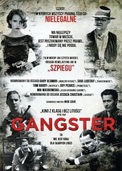 Tył ulotki filmu 'Gangster'