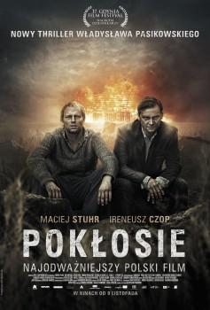 Polski plakat filmu 'Pokłosie'