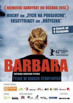 Przód ulotki filmu 'Barbara'