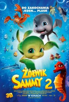 Polski plakat filmu 'Żółwik Sammy 2'