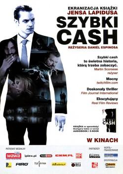 Przód ulotki filmu 'Szybki Cash'