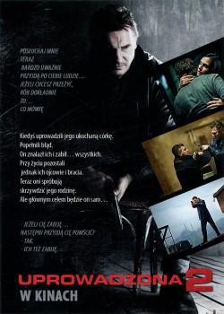 Tył ulotki filmu 'Uprowadzona 2'