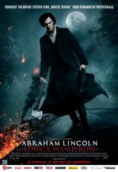 Polski plakat filmu 'Abraham Lincoln: Łowca Wampirów'