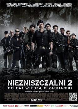 Przód ulotki filmu 'Niezniszczalni 2'
