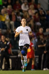 Alex Morgan - Porland Thorns FC vs Western New York Flash in Rochester 8/31/13