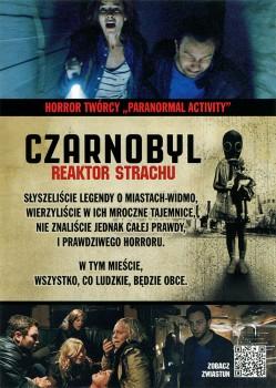 Tył ulotki filmu 'Czarnobyl. Reaktor Strachu'