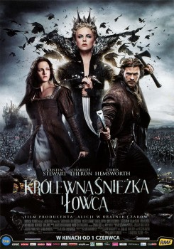 Przód ulotki filmu 'Królewna Śnieżka i Łowca'