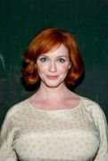 Christina Hendricks at the Everything Is Ours Opening Night After Party in New York City on September 3, 2013