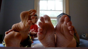 Ms pepper feet pics
