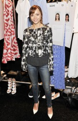 Christina Ricci - Richard Chai Spring 2014 fashion show in NYC 9/5/13