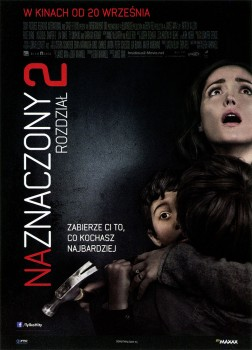 Przód ulotki filmu 'Naznaczony: Rozdział 2'