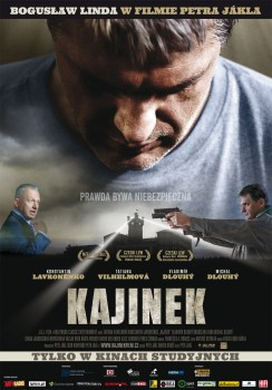 Polski plakat filmu 'Kajínek'