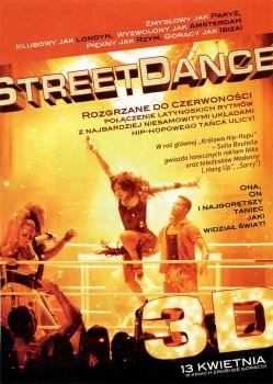 Tył ulotki filmu 'StreetDance 2'