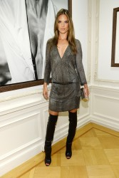 Alessandra Ambrosio - Peter Lindbergh Exhibition in NYC 9/7/13