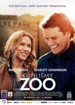 Przód ulotki filmu 'Kupiliśmy Zoo'
