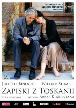 Przód ulotki filmu 'Zapiski Z Toskanii'