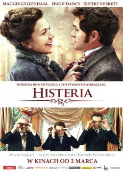 Przód ulotki filmu 'Histeria'