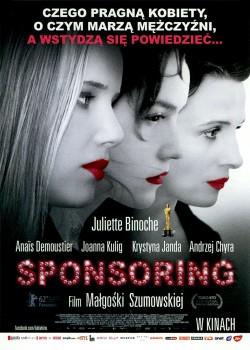 Przód ulotki filmu 'Sponsoring'