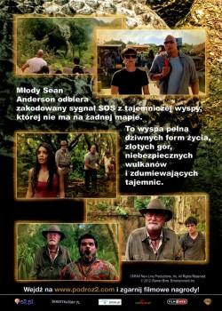 Tył ulotki filmu 'Podróż Na Tajemniczą Wyspę'