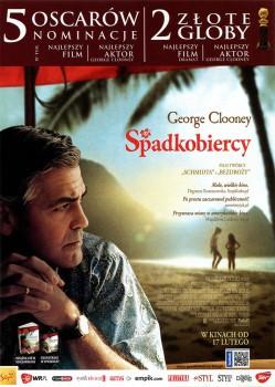 Przód ulotki filmu 'Spadkobiercy'