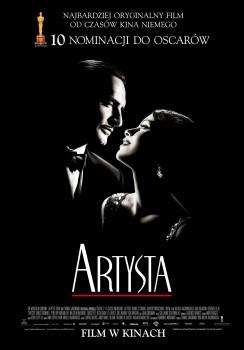 Polski plakat filmu 'Artysta'