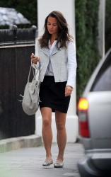 Pippa Middleton - out in London 9/11/13