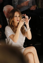 Katie Cassidy - Rachel Zoe fashion show in NYC 9/11/3