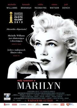 Przód ulotki filmu 'Mój Tydzień Z Marilyn'