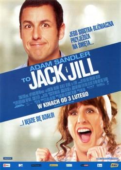 Przód ulotki filmu 'Jack i Jill'