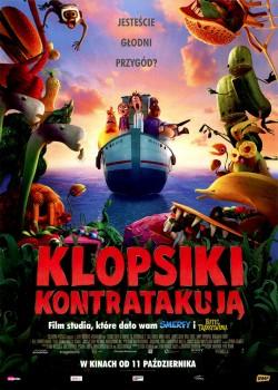 Przód ulotki filmu 'Klopsiki Kontratakują'