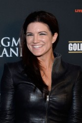 Gina Carano - at the Mayweather Jr. vs Alvarez boxing match in Las Vegas 9/14/13