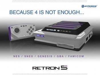 RetroN 5, o console retrocompatível com quase todos os videogames clássicos, está em pré-venda 42b990276190061