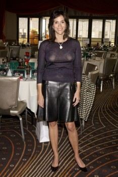 JAMI GERTZ bra with a hint of nipples - event pics