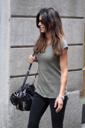 Elisabetta Canalis - out in Milan 9/16/13