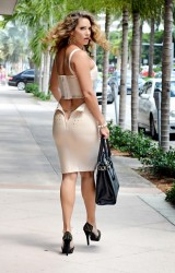 Jennifer Nicole Lee - out in Miami 9/15/13