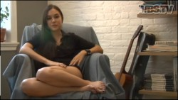 Sasha Grey - Vice Magazine Behind the Scenes Interview Screen Caps - Epic ***