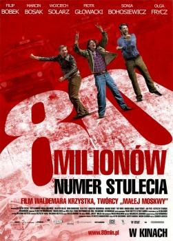 Przód ulotki filmu '80 Milionów'