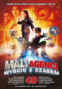 Polski plakat filmu 'Mali Agenci. Wyścig Z Czasem 4D'