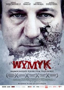 Przód ulotki filmu 'Wymyk'