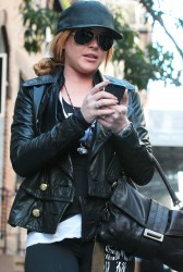 Lindsay Lohan - out in NYC 9/17/13