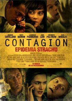 Przód ulotki filmu 'Contagion - Epidemia Strachu'