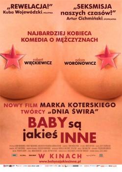 Przód ulotki filmu 'Baby Są Jakieś Inne'