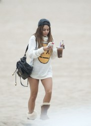 Vanessa Hudgens - At the beach 9/20/13