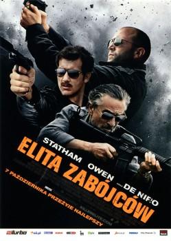 Przód ulotki filmu 'Elita Zabójców'