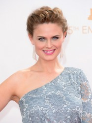 Emily Deschanel - 65th Primetime Emmy Awards 9/22/13