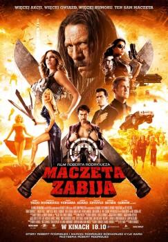 Polski plakat filmu 'Maczeta Zabija'